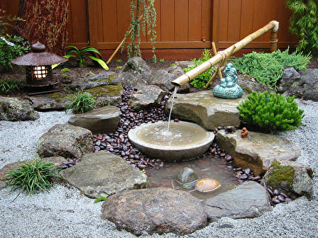 3036 20th avenue tamate landscaping for Japanese bamboo water feature