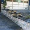 front yard divider three tier fountain