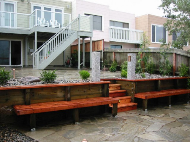 design and installation of retaining wall image