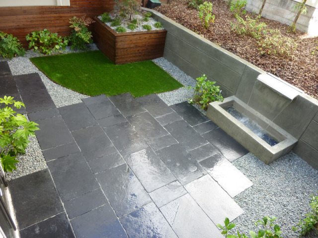 concrete and paver patio design san francisco
