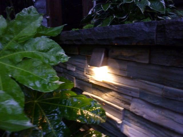 outdoor wall lighting